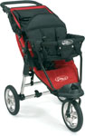 Baby Jogger City Classic 2009 with Toddler Seat