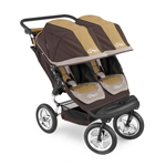 Baby Jogger City Elite Double 2008 Brown Tan