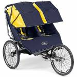 Baby Jogger Performance Double 2009 Navy Yellow