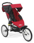 Baby Jogger Q Series 2008 Red Black