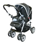 Steelcraft Orbit Pram 36723 Facing Baby